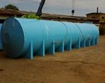 Накопительная емкость 40 м3 для питьевой воды